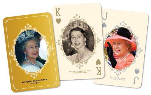 Cartamundi - Giubileo della Regina, Carte da Gioco Commemorative [Importato da UK]