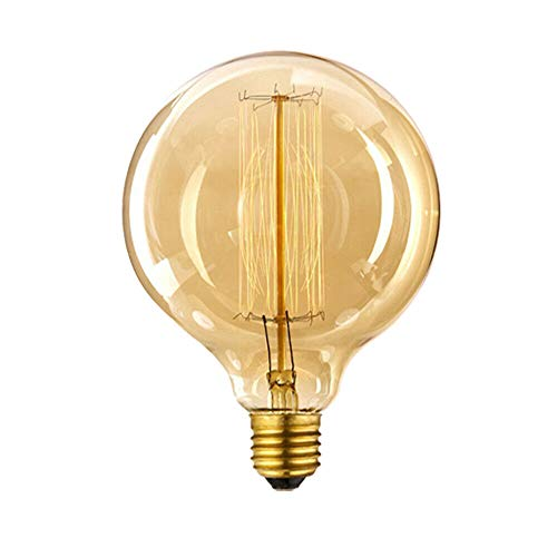 LED Sone Vintage Edison Globe Glühbirne 60 Watt groß Eichhörnchen Käfig Globe 125 mm E27 dimmbar