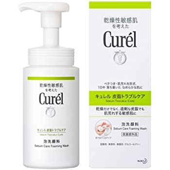 Amazon | キュレル 皮脂トラブルケア泡洗顔料 150ml | キュレル | ビューティー 通販