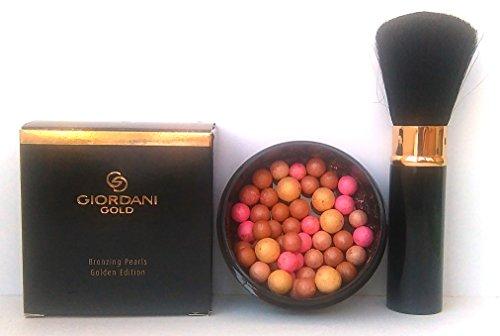 Oriflame Giordani Gold Bräunungspuder als Perlen Golden Edition 25g + Oriflame Giordani Gold...