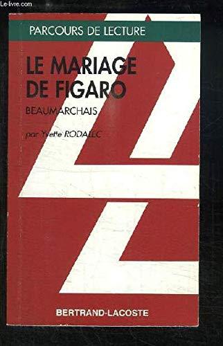 LE MARIAGE DE FIGARO-PARCOURS DE LECTURE