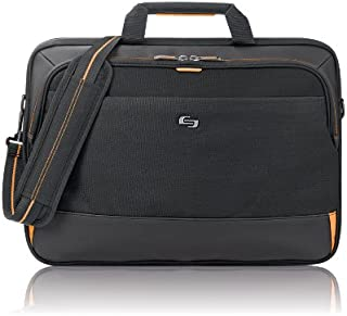 Focus 17.3 Inch Laptop Briefcase, Black