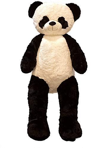 Giant teddybeer Panda Panda Bear knuffelbeer XXL 150 cm pluche beer knuffel fluweelzacht - om van te houden