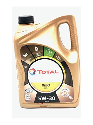 NUOVO Total Quartz Ineo ECS 5W30 5L Olio motore