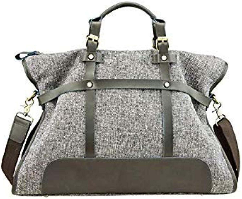 Bloomerang Linen Bags Handbags Women Famous Brands Big Casual Women Bags Trunk Tote Brand Shoulder Bag Ladies Large Bolsos women color Dark Grey
