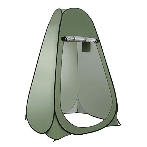 Tienda de campaña de privacidad plegable para exteriores, fácil instalación del aseo de campamento Dressing, protección solar plegable exterior para camping