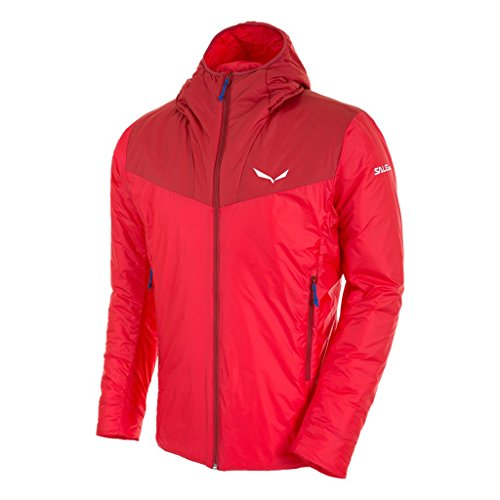 Salewa Herren Ortles Insulation Jacket-Primaloft Jacke, Rot, 52/XL