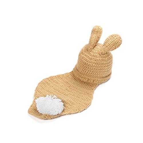 PIXNOR Costume Crochet Tricot Animaux pour Bébé Fill Photographie Prop
