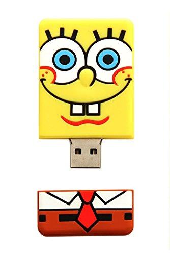 Price comparison product image Nickelodeon SpongeBob 2GB USB Flash Drive (18062)