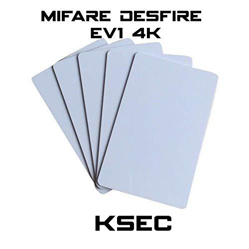 KSEC Mifare DESFire EV1 4K (FlexDF) – 50 Stück