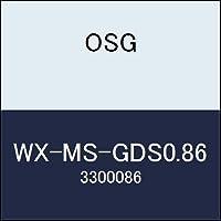 OSG 超硬ドリル WX-MS-GDS0.86 商品番号 3300086