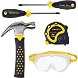 Product Image of the Stanley Jnr. ST004-05-SY Toy Tool Set, Yellow Black