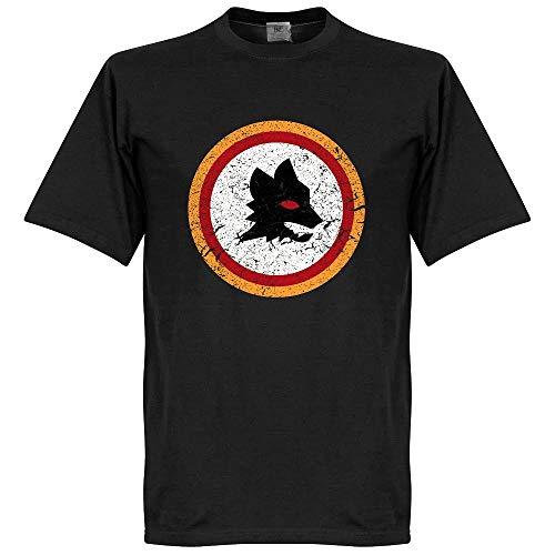 Rom Vintage Wappen T-Shirt - schwarz - L