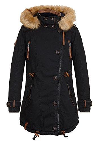 Damen Jacke Naketano Gr³nwalds Herbstsonne II Jacke Black S