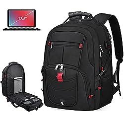 powerful Laptop Backpack 17inch Waterproof Oversized Travel TSA Anti-Theft College School…