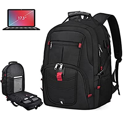 Extra Large Backpack, TSA Friendly Durable Travel Laptop Computer backpack