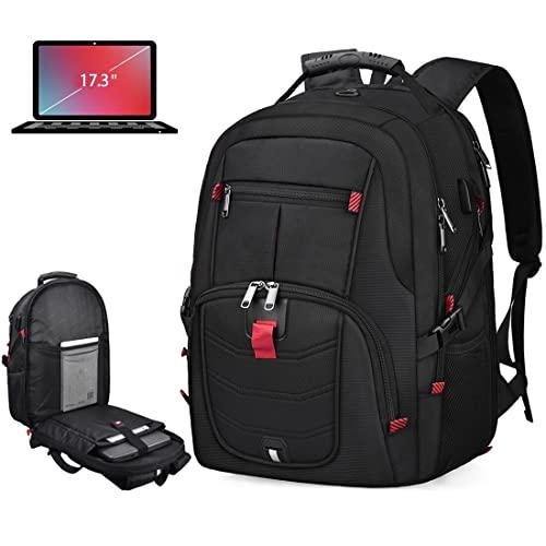 Laptop Backpack 17 Inch Waterproof Extra Large TSA Travel Backpack...