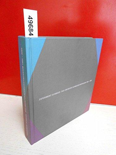 Experiment Schmuck . Das Erfurter Schmucksymposium 1984-2002