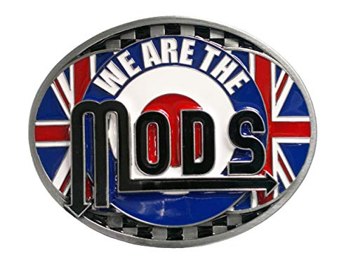 'We Are The Mods' riem gesp