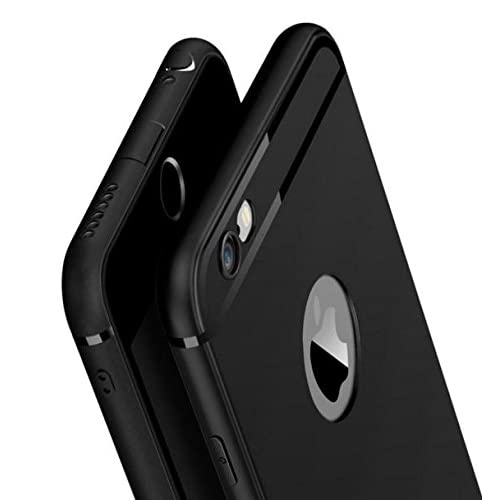 fa00c4641d Amozo® Soft Silicone with Anti Dust Plugs Shockproof Slim Back Cover Case  for Apple iPhone
