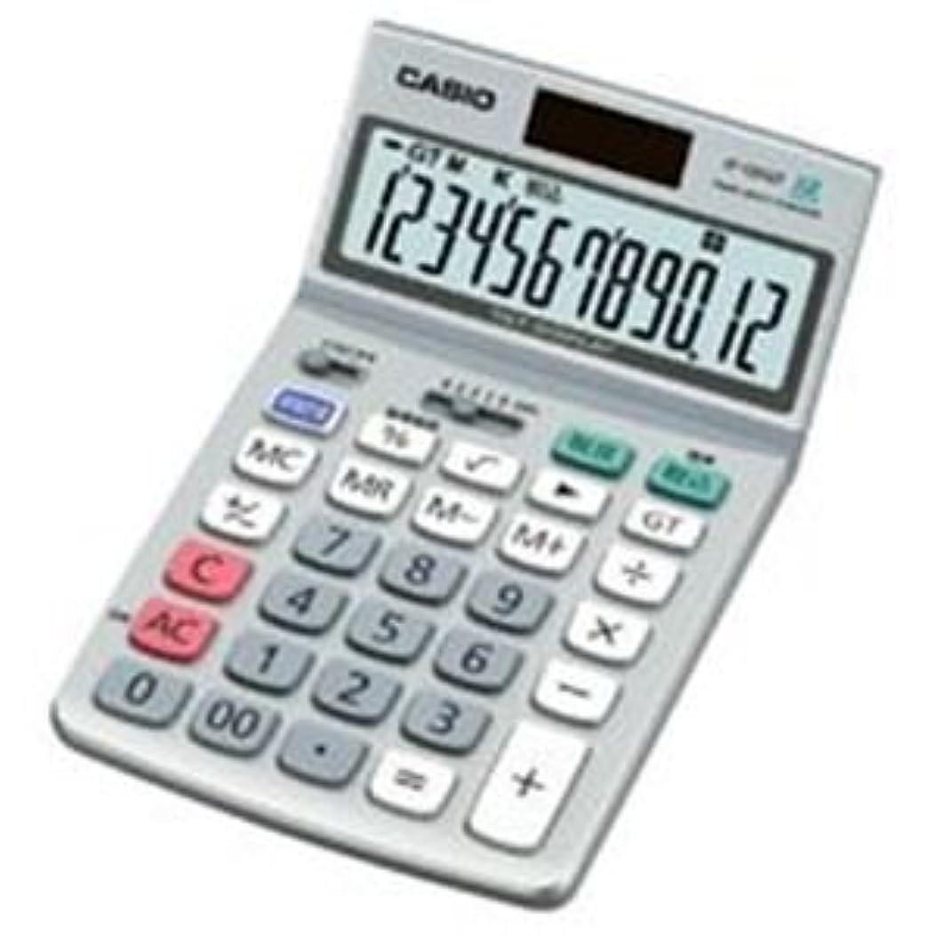 鼻類推安全な(業務用10セット) カシオ計算機(CASIO) 電卓 JF-120GT-N