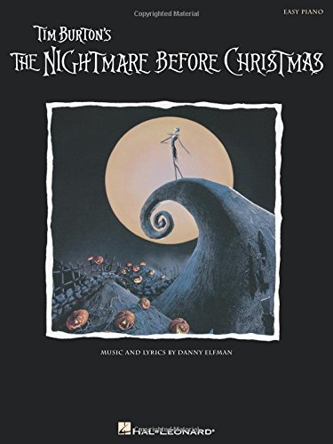 Danny Elfman The Nightmare Before Christmas (Easy Piano) Pf