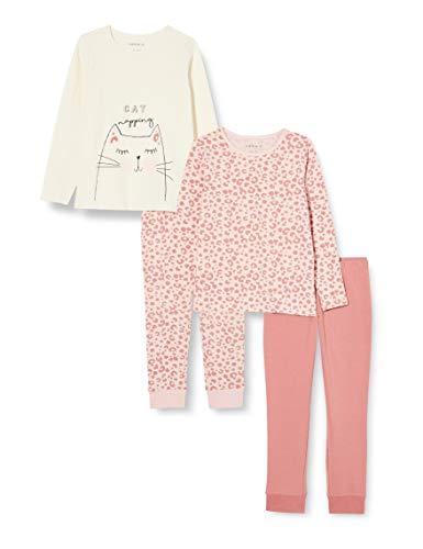 NAME IT Mädchen NKFNIGHTSET 2P LS INJ Pyjamaset, Potpourri, 98-104