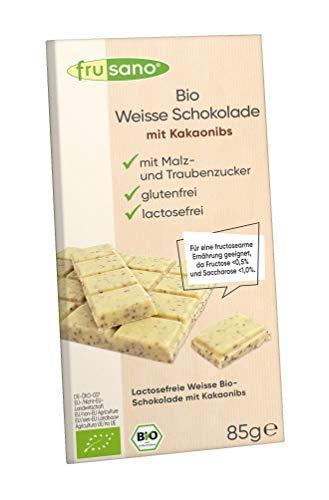Frusano Weisse Schokolade mit Kakaonibs bio 85g