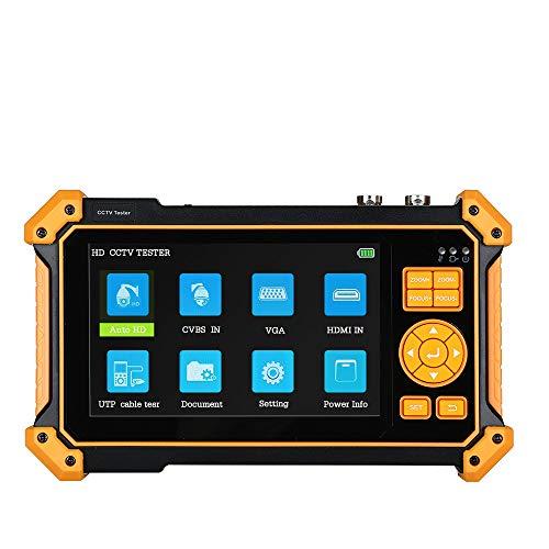 TOMLOV Monitor-Tester 8 MP CVI TVI AHD SDI analog 5-in-1 VGA und 4K HDMI Input HD Coaxial CCTV Tester