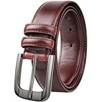 NPET Men's Leather Belt (various sizes in Brown)