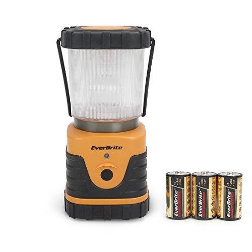 EverBrite Lanterna da Campeggio LED, 3 Modalità di Illuminazione, Lampada da Campeggio per Emergenza Escursione Pesca Trekking ecc.