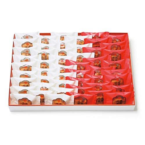 梅林堂 紅白満願成就50匹入《お菓子 和菓子 洋菓子 スイーツ マドレーヌ 焼き菓子 めで鯛 可愛い 埼玉 土産 ギフト 個包装 ブライダル 引き菓子》