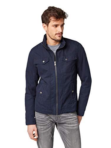 TOM TAILOR Herren 1007510 Jacke, Blau (Knitted Navy 10690), (Herstellergröße: XX-Large)