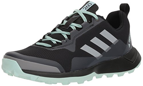 adidas outdoor Women's Terrex CMTK W Walking Shoe, Black/Chalk White/ash Green, 8 M US