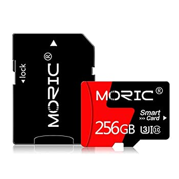 256GB Micro SD Car Class10 MicroSD Card for Nintendo Switch High Speed Memory Card for Android Smartphone Digital Camera Tablet and Drone
