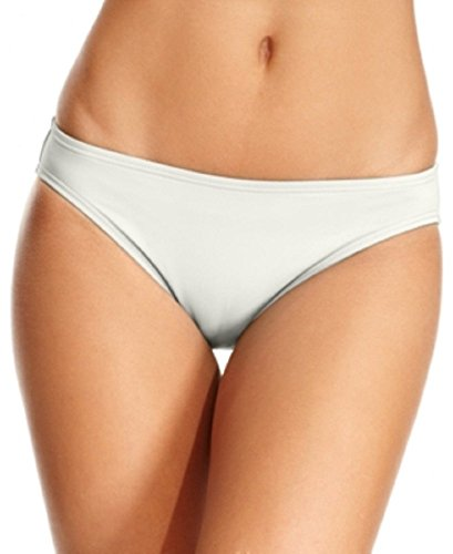 Michael Kors Solid Hipster Bikini Bottom Cream Large