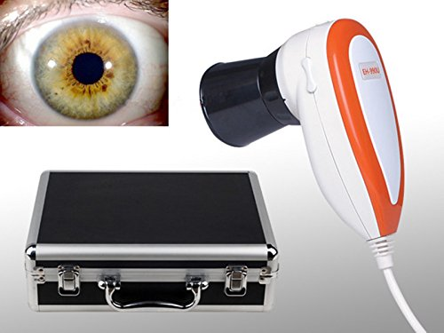 CareforYou Infrarotkop/Iridologie-Kamera-Analysator mit Pro Software (mit 30 x Iris)