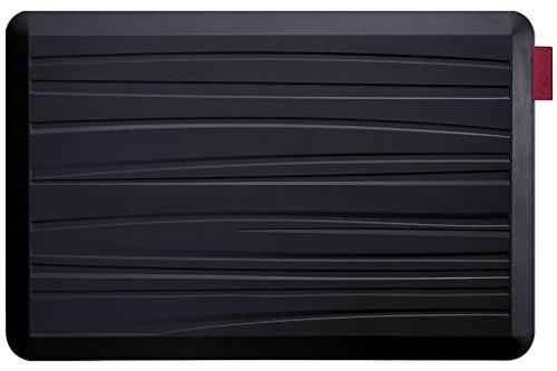 NUVA Premium Anti Fatigue Standing Floor Mat 30 x 20 in, NO PVC!!! 100% PU Comfort Ergonomic Material, 4 Non-slip PU Elastomer Strips on Bottom, 5 Safety Test by SGS (Putty Gray, Beach Pattern)