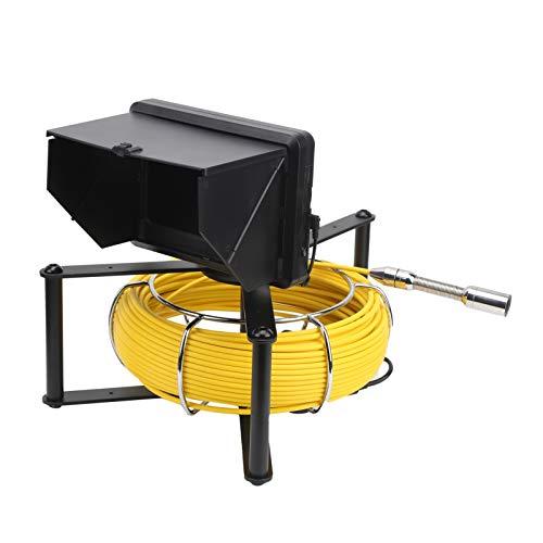 Cámara de inspección de alcantarillado, cámara de inspección de tuberías F9623‑30M para cámara de video de tuberías