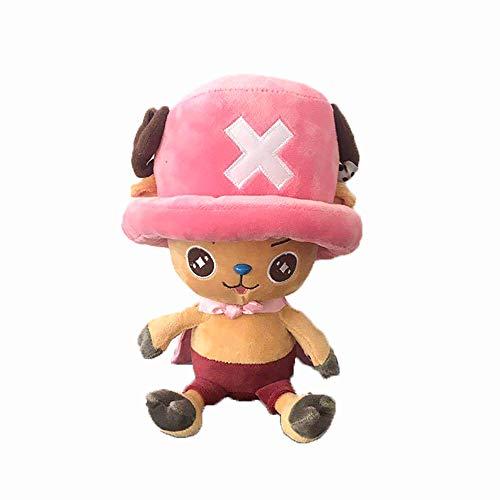 Etoilemer One Piece Plüschtier Anime Figur Ruffy Tony Chopper Sanji Plüschtier 9,75