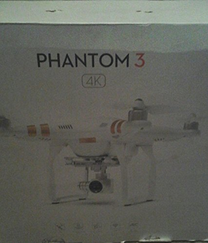 DJI Phantom 3 4K (White/Gold)