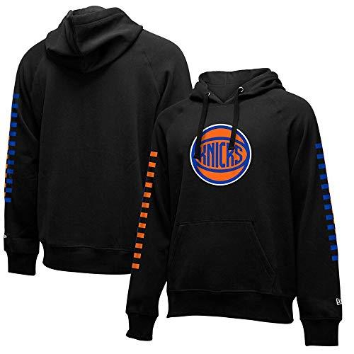 BMSD Sudaderas con Capucha Hombre Jersey NBA Knicks Moda Deporte Estampado Uniforme de béisbol Unisex Sudaderas de Manga Larga Ropa, X-Large