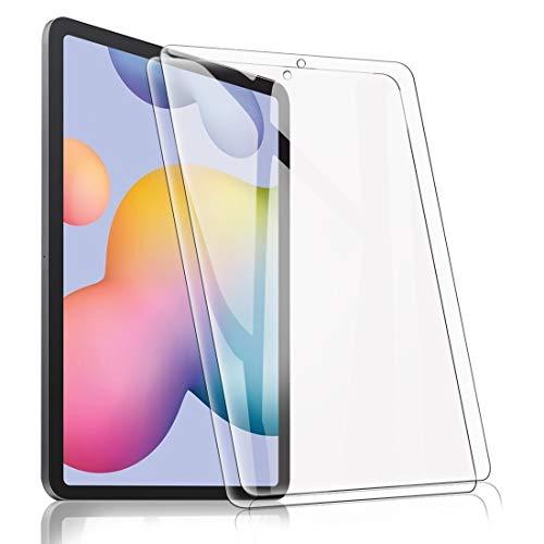 [2 Pack] Pellicola Protettive per Samsung Galaxy Tab S6 Lite 10.4, Ultra Trasparente Vetro Temperato Screen Protector Film 9H Durezza Anti- Scrach Anti Impronte Anti-Graffi Anti-Olio