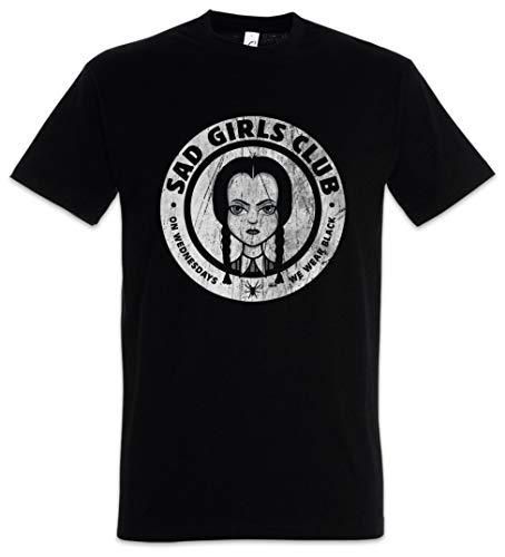 Urban Backwoods Sad Girls Club Camiseta De Hombre T-Shirt Negro Talla 3XL