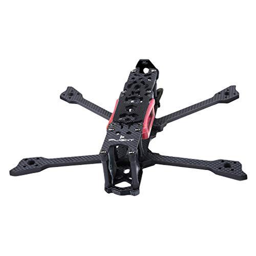 Mypace2 iFlight Quadcopter Rahmen 222mm Kohlefaser Flugzeug Drohnen Frame Robust Drohne mittlerer Rahmen Flexibel Drohnen Shell Schutzfilm Compatible with DJI FPV Air Unit Digital FPV Drohne