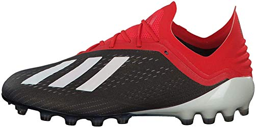 adidas Herren X 18.1 Ag Fußballschuhe, Mehrfarbig (Negbás/Ftwbla/Rojact 000), 44 2/3 EU