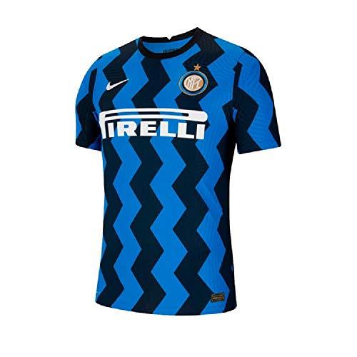 Nike Herren T-Shirt Inter M Vapor Mtch JSY Ss Hm, Blue Spark/(White) (Full Sponsor), S, CD4187