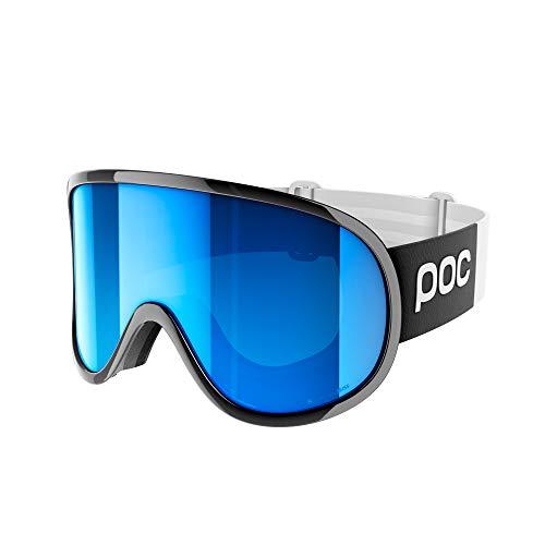 POC Retina Clarity Comp Gafas de Esquí, Unisex Adulto, Negro (Uranium Black/Spektris Blue), Talla Única