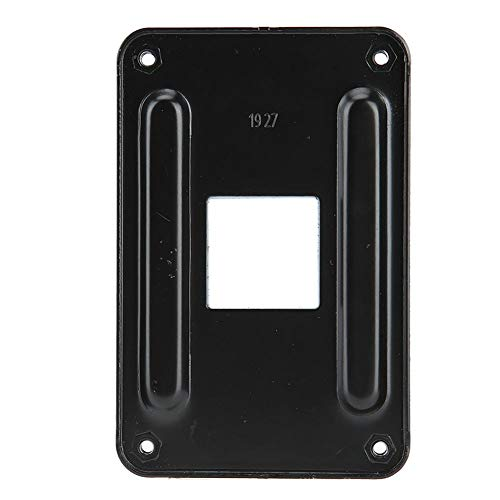 Backplate voor AM4, Iron Plate CPU Heatsink Bracket Backplane, Duurzame en goede warmteafvoer, Zwart
