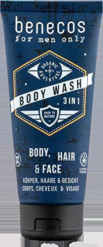 benecos Bio Men Body Wash 3 in 1 (6 x 200 ml)